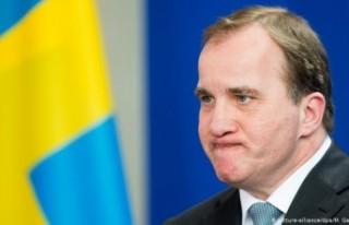 """Başbakan Stefan Löfven: """"Ulusa sesleniş""""..."""