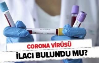 Corona virüs ilacı için sevindiren açıklama!...