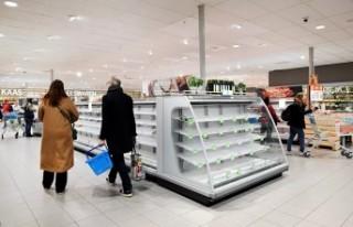 Dünyada koronavirüs paniği: Marketlerde raflar...