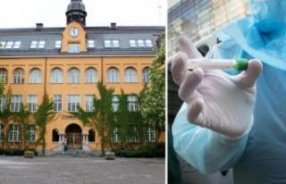 İsveç'te virüs nedeniyle bazı okullar kapandı
