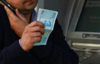Kağıt paraları ATM içinde dezenfekte eden sistem...