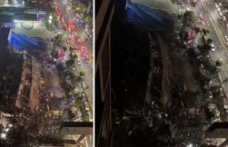 Çöken karantinadaki otel enkazında en az 10 ölü