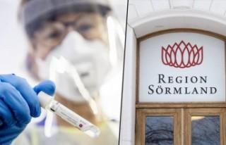 Sörmland'da koronavirüs hasta başvuru sayısı...