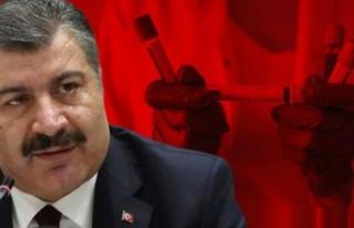 Türkiye'de vaka sayısı arttı ve bir kişi...