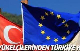 AB büyükelçileri zirvesinden Türkiye kararı