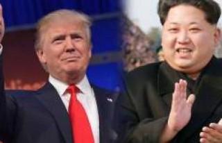 ABD Başkanı Trump ve Kuzey Kore lideri Kim Jong-un,...