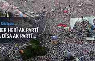 """AK Parti'den Kürtçe Seçim Şarkısı """"Carek..."""