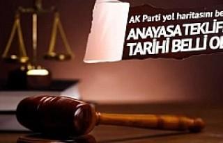 AK Parti'nin anayasa teklif tarihi belli oldu