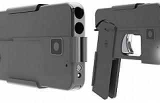 Akıllı telefon görünümlü silah
