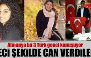 Almanya'da 3 Türk genci feci şekilde can verdi