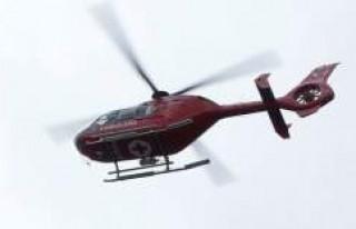 Ambulans helikopteri çağıran iki İsveçliye para...