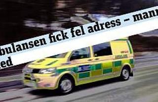 Ambulans yanlış adrese gidince hasta öldü