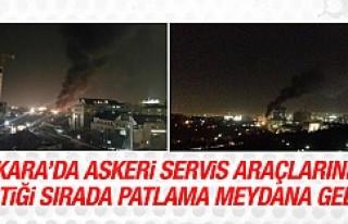 Ankara'da terör saldırısı