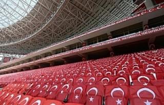 Antalya Stadı Türkiye İsveç maçına hazır