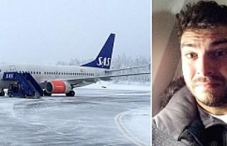 Arlanda Havalima'na giden uçak acil iniş yaptı