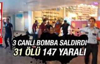 Atatürk Havalimanı'nda terör saldırısı...