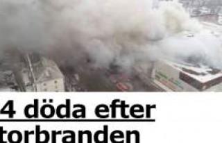 AVM'de yangın faciası: 64 ölü
