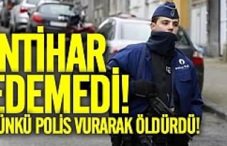 Avrupa'da intihara kalkışan kişiyi polis vurarak...