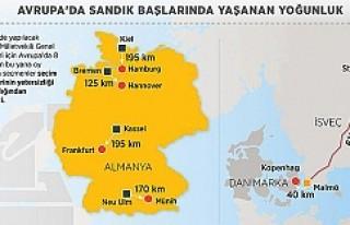 Avrupa'daki Türkler sandıkların uzaklığından...