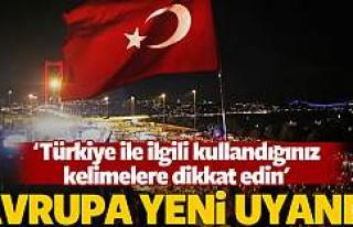 Avrupa Parlamentosu'nda Türkiye görüşüldü