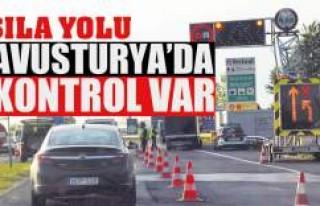 AVUSTURYA'DA KONTROL VAR