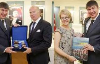 Başkan Türel, İsveç İstanbul Konsolosunu kabul...