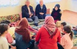 Başkan Yıldız, Kulu'da Suriyeli aileye konuk...