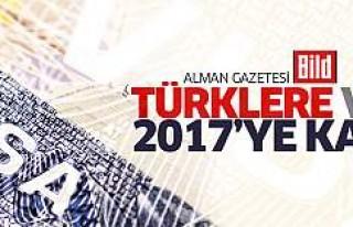 Bild: Türklere vize 2017'ye kaldı