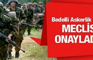 Bin Avro'ya Bedelli Askerlik Yasalaştı...