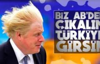 Boris Johnson Türkiye'nin AB üyesi olmasını...