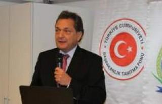 Büyükelçi Türkmen İsveç Dışişleri Bakanlığı'na...
