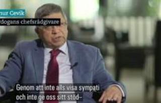 Cumhurbaşkanı Başdanışmanı İsveç Devlet Televizyonu'na...