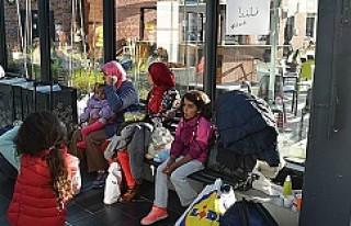 Danimarka'daki sığınmacılar İsveç'e...