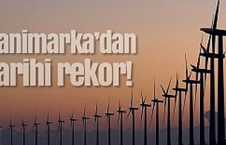 Danimarka'dan Tarihi Rekor