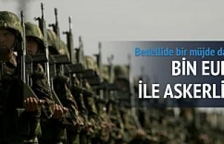 Dövizli askerlik bedeli 1000 Euro'ya düşürüldü