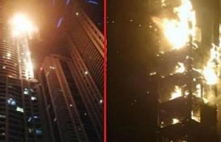 Dünya'nın en yüksek yangını!