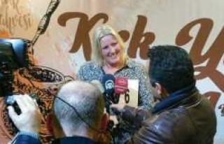 En iyi Türk Kahvesini İsveçli Malin Larsson Yaptı