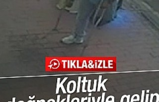 Engelli vatandaşın silahlı saldırısı kamerada