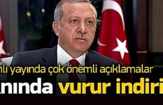 Erdoğan: Asker veya polis anında indirir