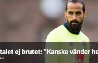 Erkan Zengin İsveç'e dönüyor