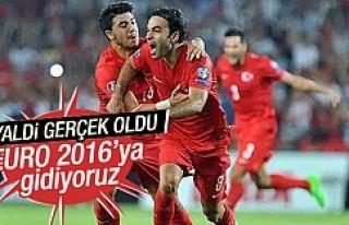 EURO 2016'ya direkt katılıyoruz