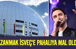 Eurovision'u kazanmak İsveç'e pahalıya...