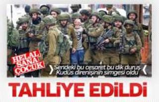 Filistin direnişinin sembolü Cüneydi serbest