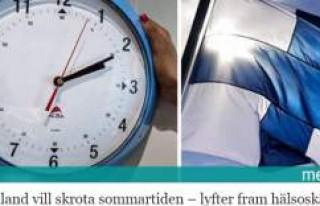Finlandiya yaz saati uygulamasının kaldırılmasını...