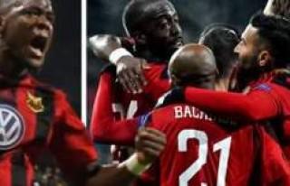 Galatasaray'ı eleyen Östersunds Avrupa'da...