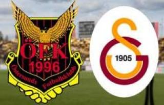 Galatasaray'ın rakibi Östersunds'dan Türkçe...