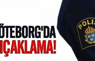 Göteborg'da bıçaklama!