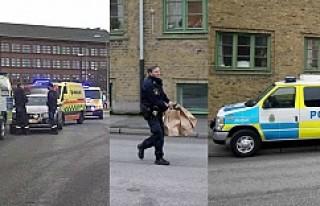 Göteborg'da hastaneye saldırı 3 kişi bıçaklandı!