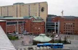 Göteborg'de o hastanede mesai süresi 6 saate...