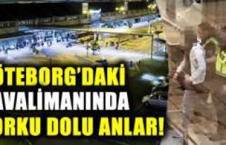 Göteborg Havalimanında patlayıcı yakalandı
